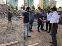 AHMET ARİF - Kayapınar'da Kütüphane Çalışmaları Sürüyor