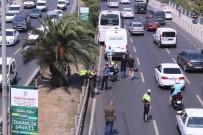 YEŞILDERE - Minibüsün Çarptığı Motosiklet Sürücüsü Hayatını Kaybetti