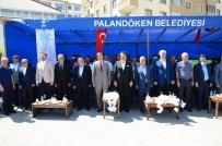 İBRAHIM AYDEMIR - Palandöken Belediyesi Millet Bahçesi'ni Hizmete Açtı