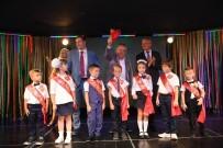 DANS GÖSTERİSİ - Rus Okulunun İlk Ders Zili Başkan Böcek'ten