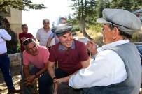 Sözlü, Kızıldağ Yaylası'nda Vatandaşlarla Buluştu