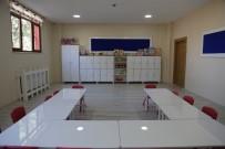 ÇOCUK BAKIMI - Tunceli'de Yapılan Kreş Ve Gündüz Bakımevi Minikleri Ağırlamaya Hazırlanıyor