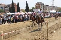 AT YARIŞLARI - Turgutlu'da 'Rahvan At' Heyecanı Yaşandı