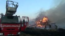 Amasya'da Samanlık Yangını