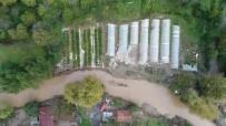 YILDIRIM DÜŞMESİ - Beykoz'da aşırı yağış baskınlara neden oldu