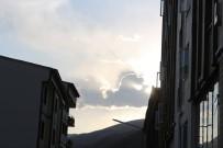 Bulut'taki Aslan Şekli Görenleri Şaşırttı