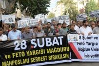 28 ŞUBAT - Diyarbakır'da 28 Şubat Ve FETÖ Mağdurlarının Adalet Talebi