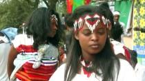HÜKÜMET KARŞITI - Etiyopya'nın Ünlü Festivali Bu Yıl Olaysız Geçti