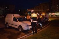 KAYAHAN - Hafif Ticari Araç Takla Attı Açıklaması 1 Yaralı