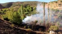 MAKİLİK ALAN - Hatay'da Makilik Ve Ormanlık Alanda Yangın