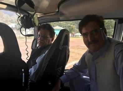 Başbakanın helikopterine ateş açıldı