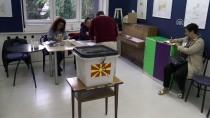 ALEKSİS ÇİPRAS - Makedonyalı Seçmenler Referandum İçin Sandık Başında