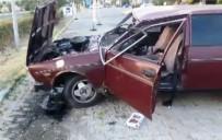 20 DAKİKA - Nazilli'de Trafik Kazası; 1 Yaralı