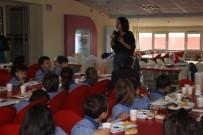 SABAH KAHVALTISI - Öğrencilere Beslenmenin Önemi Kahvaltıyla Anlatıldı