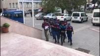 Çaldıkları 250 Bin Liralık Kablolarla Suçüstü Yakalandılar