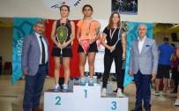 ALTUNTAŞ - Squash Şampiyonları Madalyalarını Aldı