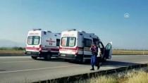 Burdur'da Trafik Kazası Açıklaması 3 Yaralı