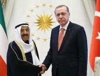 KUVEYT EMIRI - Erdoğan ile Kuveyt Emiri telefonda görüştü