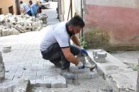 Giresun'da Yol Yenileme Çalışmaları Sürüyor