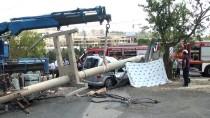 ÇARPMA ANI - GÜNCELLEME - Kocaeli'de Trafik Kazası Açıklaması 2 Ölü