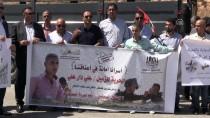 RAMALLAH - İsrail Askerlerinden Filistinli Gazetecilerin 'Dayanışma Gösterisine' Müdahale