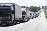 Kapıkule'den Ağustos Ayında 43 Bin Tır Geçiş Yaptı
