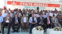 AHMET ÇAKıR - Malatya'da İtfaiye Merkezinin Temeli Atıldı