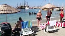 GÖKOVA - Mavi Bayraklı Plajlarda Deniz Dibi Temizliği