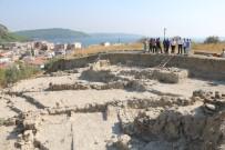 İSMAİL KAŞDEMİR - Maydos Kilisetepe Höyüğü'nde 4 Bin Yıllık Savunma Duvarı Kalıntıları Bulundu