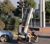 Motosikletle Pes Dedirten Taşıma