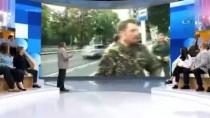 MUHABIR - Rus Muhabire Canlı Yayında Saldırı