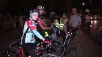 TAKSIM MEYDANı - 'Sessiz Çığlık Bisiklet Turu' Üyeleri İstanbul'a Döndü