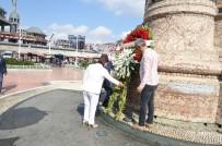 SIVAS KONGRESI - Sivas Kongresi'nin Yıldönümünde Taksim'de Tören Düzenlendi