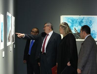 'Sonsuz Emanet' sergisi Katar'da açıldı