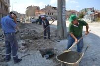 Şuhut'ta Yağmur Suyu Hattı Çalışmaları Devam Ediyor