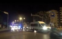 Suriye Sınırına Askeri Sevkıyat Sabaha Kadar Sürdü