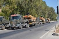 ZIRHLI ARAÇLAR - Suriye sınırına sevkiyat sürüyor