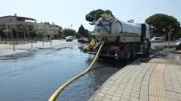 Taşan Kanalizasyon Suyu Tepkiye Neden Oldu