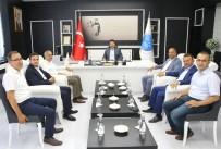 MUSTAFA DOĞAN - AK Parti İl Başkanı Karataş'tan Rektör Karacoşkun'a Ziyaret