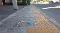 KALDIRIM ÇALIŞMASI - Altınordu'da Kaldırımlara Estetik