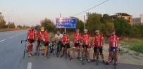 30 AĞUSTOS ZAFER BAYRAMı - Avcılarlı Bisikletçiler; Ata'ya Saygı Turu'nda