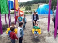 Başkan Toksoy'un Çocuk Sevgisi, Çocukların Da Başkan Sevgisi