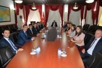 AYRI DEVLET - Bolu'ya Gelen FAO Azerbaycan Şubesi Çalışanları Vali Baruş'u Ziyaret Etti