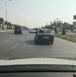 Boru Taşıyan Otomobil Trafiği Tehlikeye Düşürdü