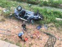 Çankırı'da Cip Çaya Uçtu Açıklaması 2 Yaralı