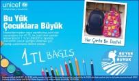 SABANCı HOLDING - Carrefoursa'dan UNICEF'in 'Bu Yük, Çocuklara Büyük' Kampanyasına Destek