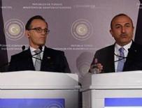 Çavuşoğlu- Maas Ortak Basın Toplantısı