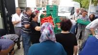 Edirne'de Salçalık Domates İzdihamı