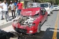 Elazığ'da 2 Ayrı Trafik Kazası Açıklaması 7  Yaralı