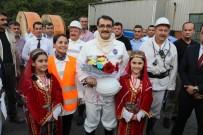AHMET ÇıNAR - Enerji Ve Tabii Kaynaklar Bakanı Dönmez Maden Ocağına İndi
